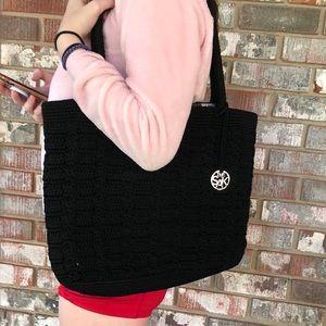 """Black woven purse by """"THE SAK"""""""